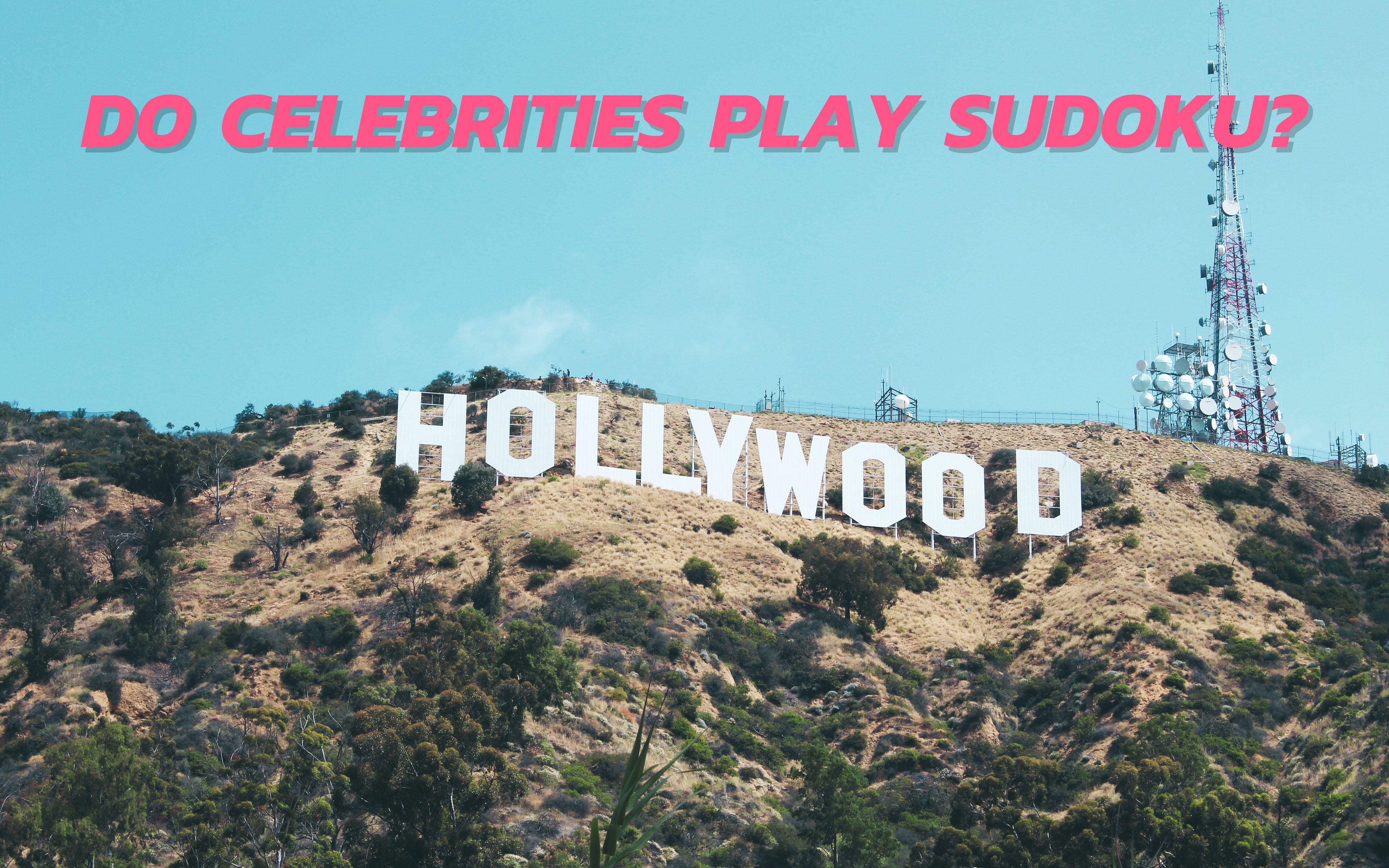 Do Celebrities Play Sudoku header