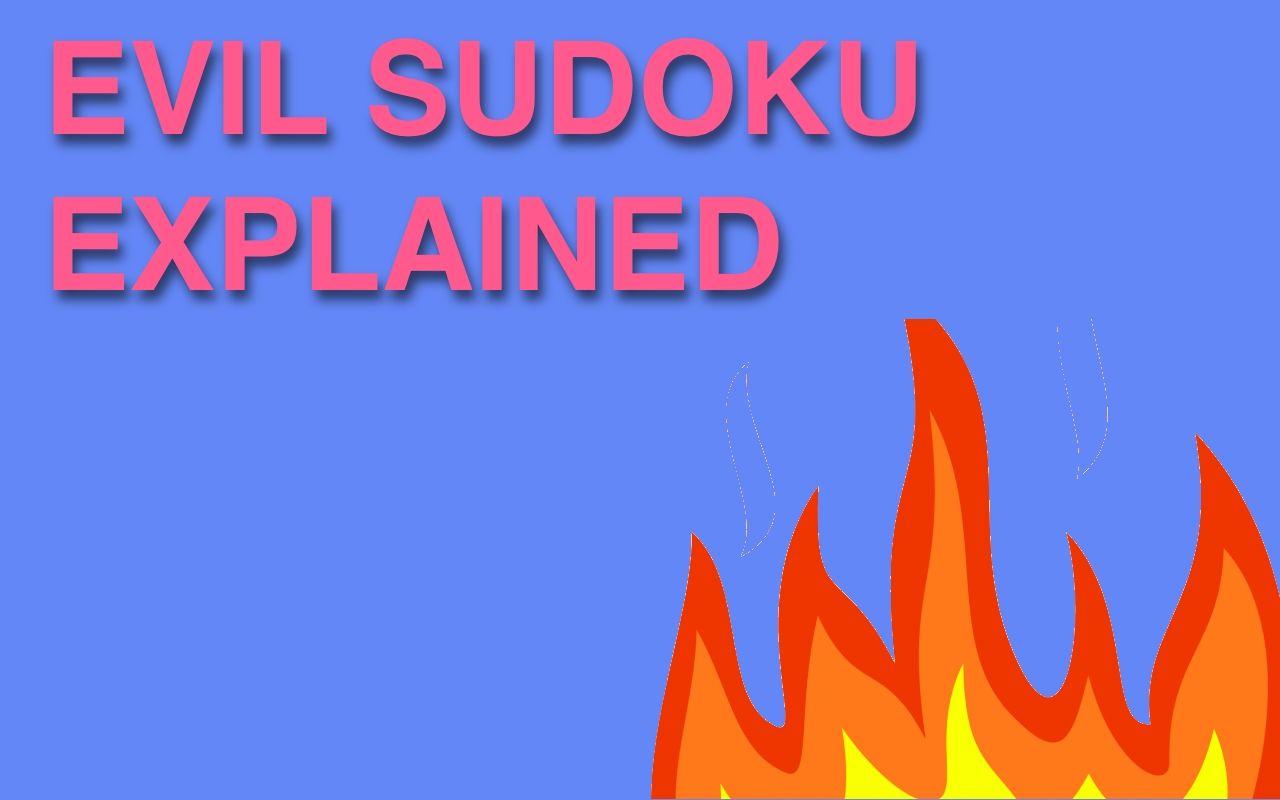 Evil Sudoku Puzzle header pic
