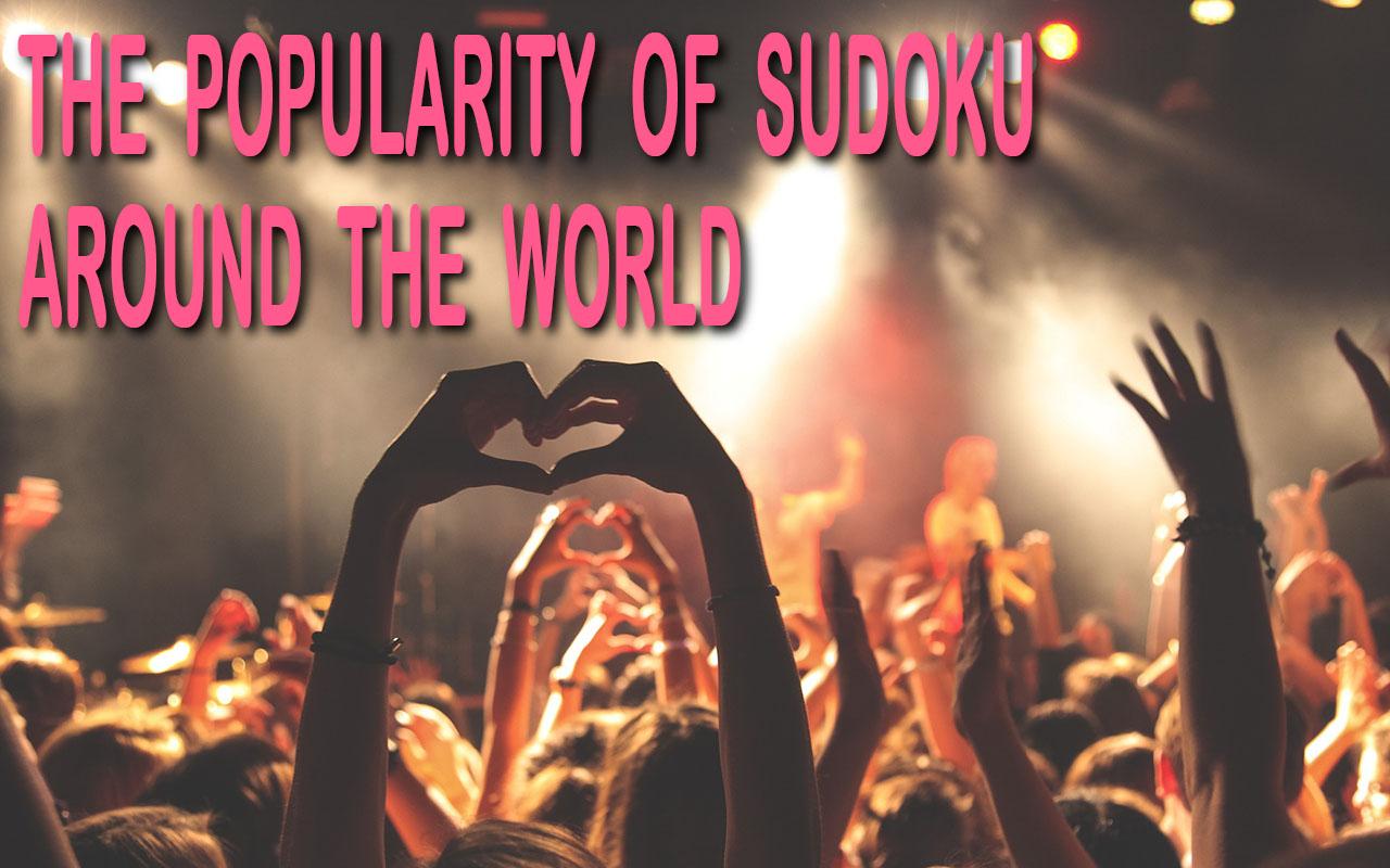 The popularity of Sudoku Around the world header