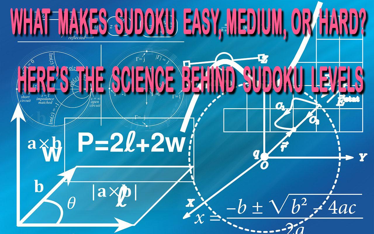 What Makes Sudoku Easy, Medium, Or Hard header.